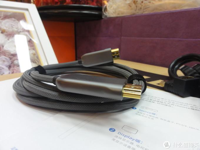 赴一场开博尔光纤HDMI线二代之高清视觉宴会