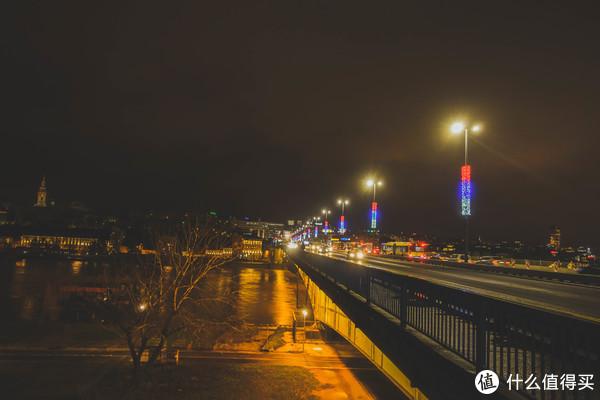 贝尔格莱德夜景