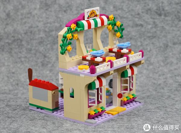 不来一份披萨么亲?LEGO 乐高 41311 好朋友系列 心湖城比萨餐厅 开箱