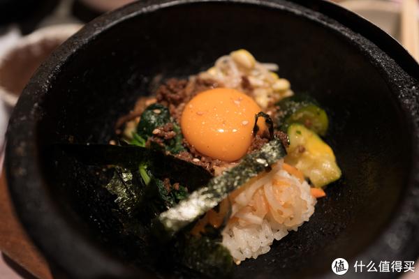 主食可选,这是石锅饭