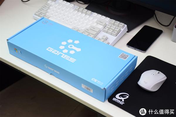 性价比的双模机械键盘 GANSS 高斯 GS87-D 蓝牙双模键盘