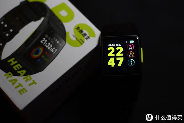 支持GPS和心率—iWOWN 埃微 P1 能量运动手表晒单
