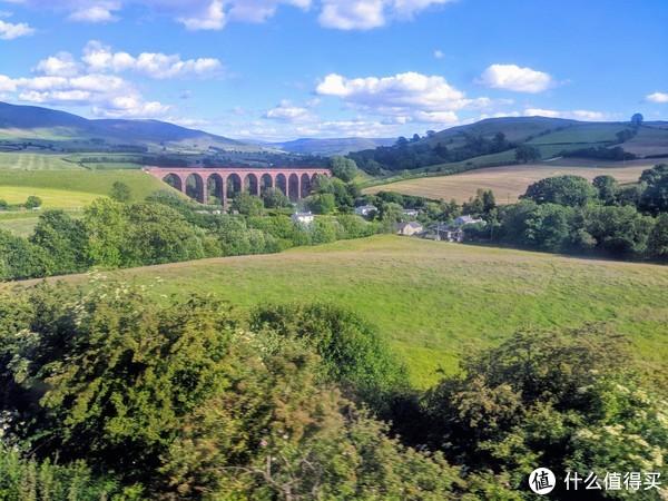 从爱丁堡到湖区沿途风景