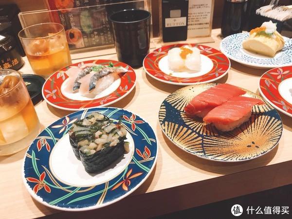 大起水产回转寿司(依旧点了梅子酒)
