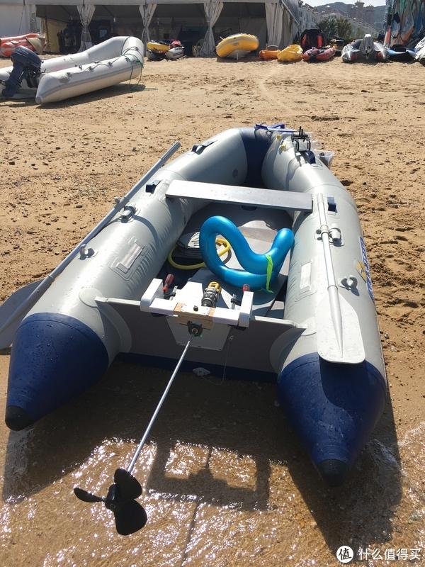 """住在海边的人怎么能没有一条自己的""""船""""?DIY橡皮艇动力"""