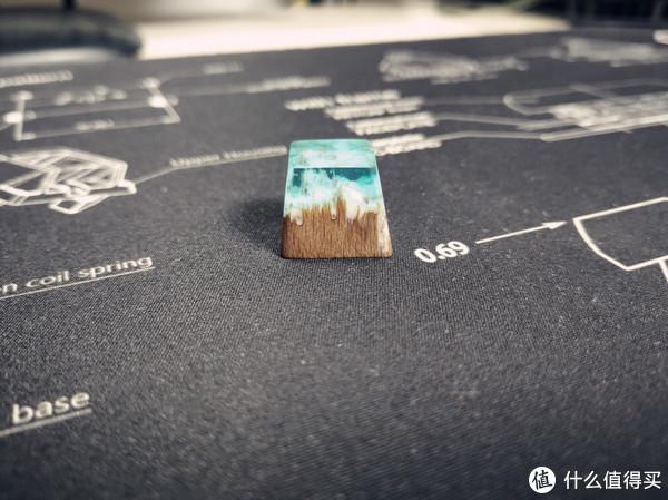一键一山一风光—雪山 手工定制树脂键帽展示体验
