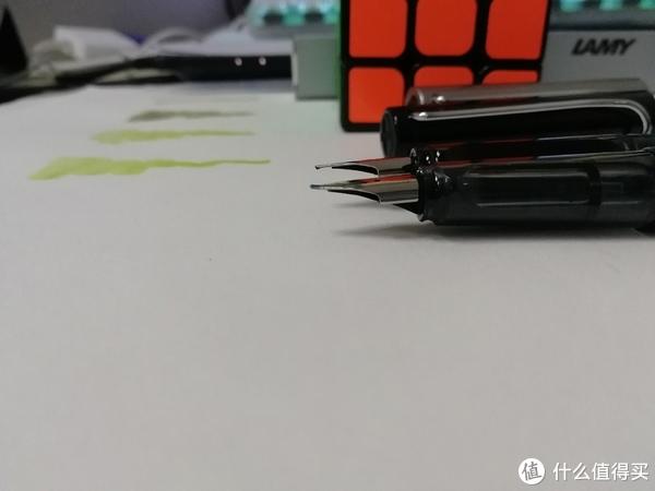 Lamy 凌美 Safari F尖 钢笔 开箱(附恒星对比)