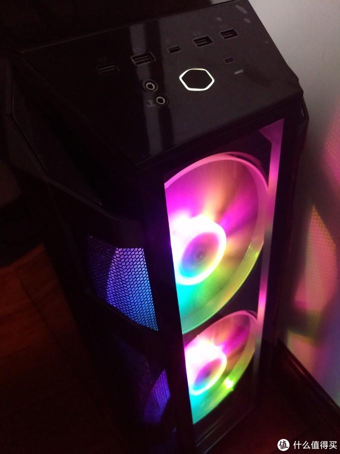 ARGB灯光秀---酷冷至尊MasterCase H500M游戏机箱评测