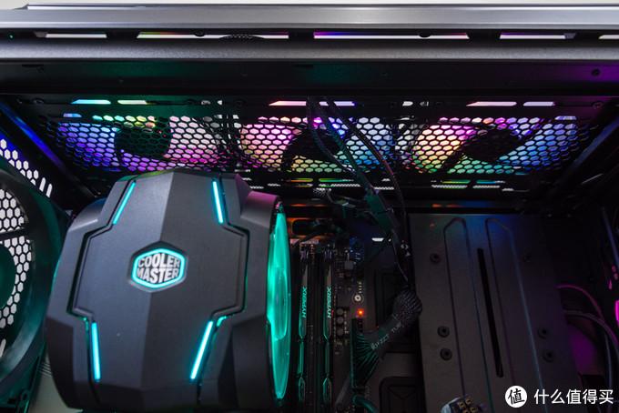 【黑夜遮住了我的眼睛,却遮不住ARGB的炫酷】:酷冷至尊 H500M ARGB游戏机箱体验