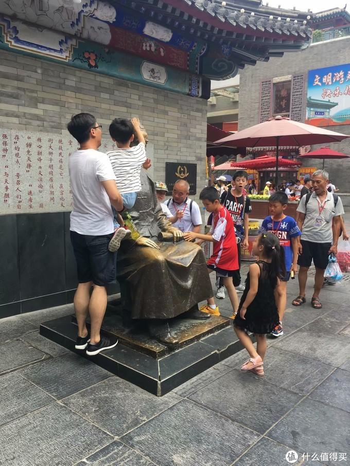 古文化街的雕像