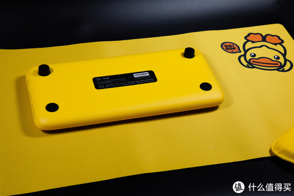 以萌为名-洛菲小黄鸭圆点蓝牙机械键盘开箱·使用·测评
