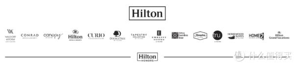 希尔顿酒店集团旗下品牌