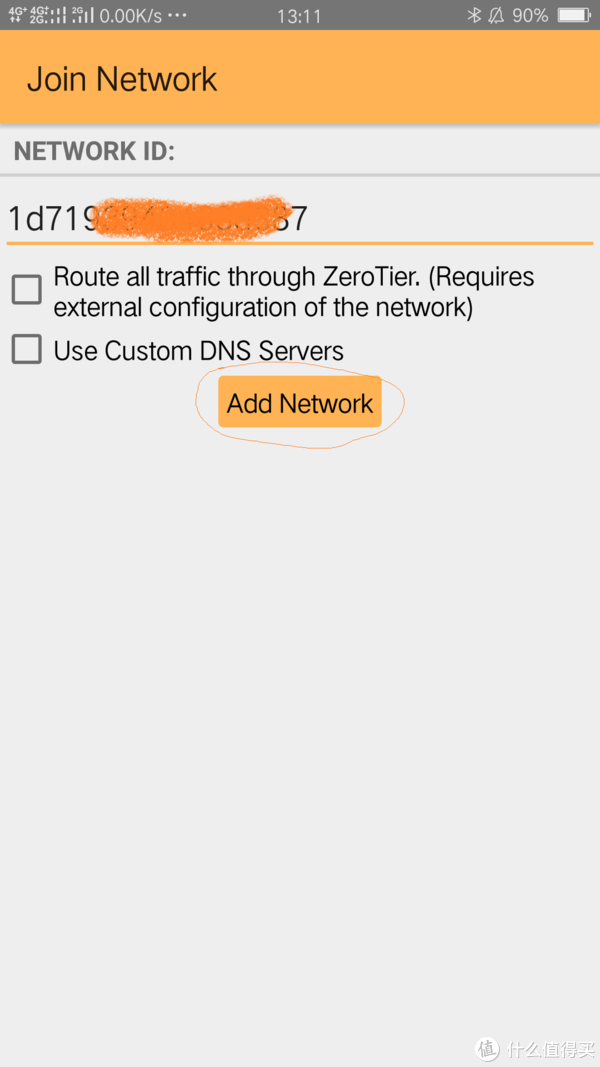 运行ZeroTier One App