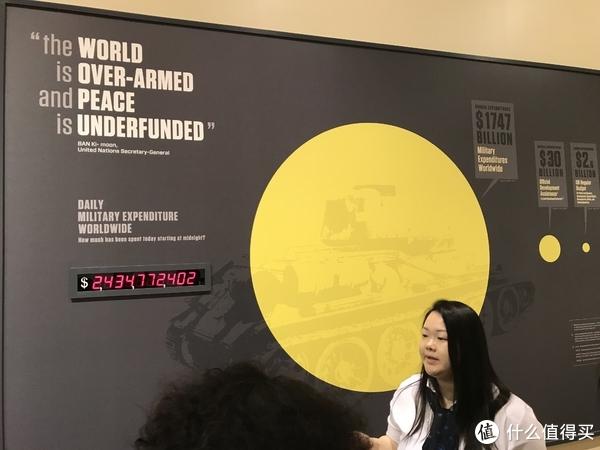 联合国武器销毁开销(旁边是我们的中文解说员)