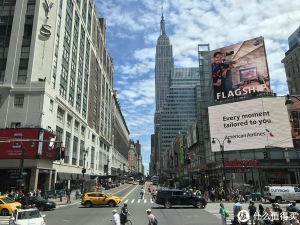 纽约街景(大巴上拍摄)