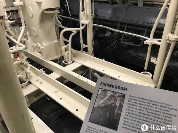 潜艇引擎室(共3台引擎)