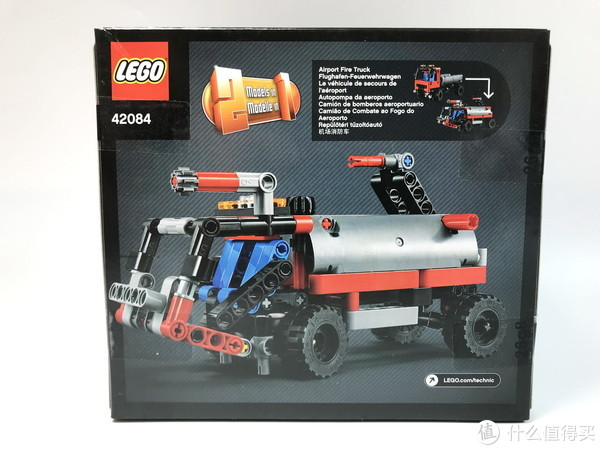 套装虽小高价零件不少:乐高 LEGO 42084 吊钩式装载卡车