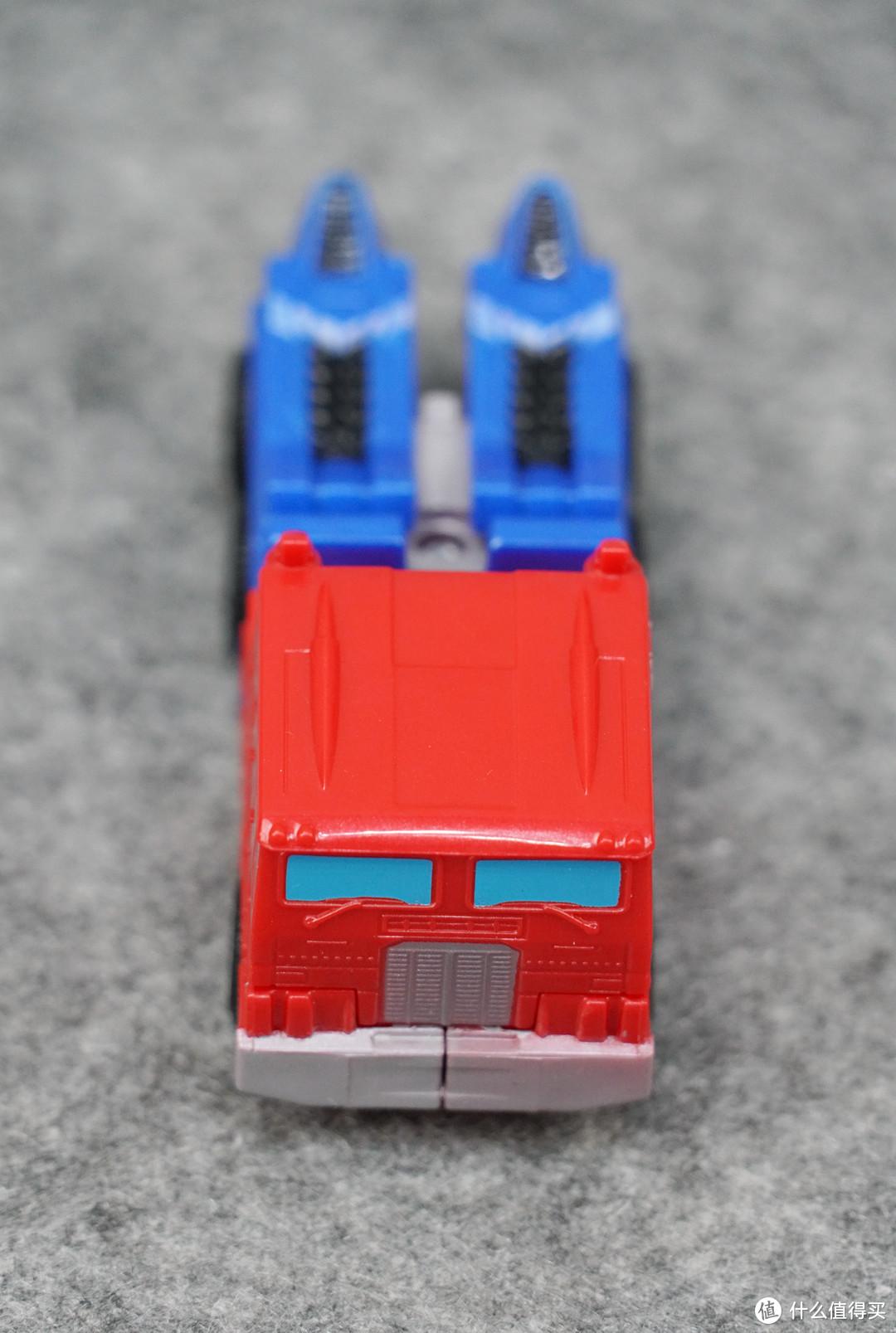 鬼啊!HASBRO 孩之宝 变形金刚 一步变形擎天柱+风暴系列擎天柱开箱