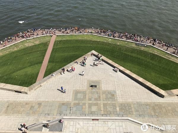 自由女神像基座俯视