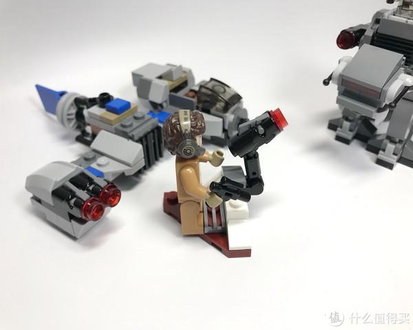买人仔送载具:LEGO 乐高 迷你战队系列 75195 飞船对战步行机甲开箱