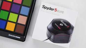 Datacolor Spyder5 Elite 红蜘蛛5 专业校色仪外观细节(接口 边框 摄像头 键盘 转轴)