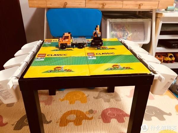给孩子DIY一个宜家款乐高桌