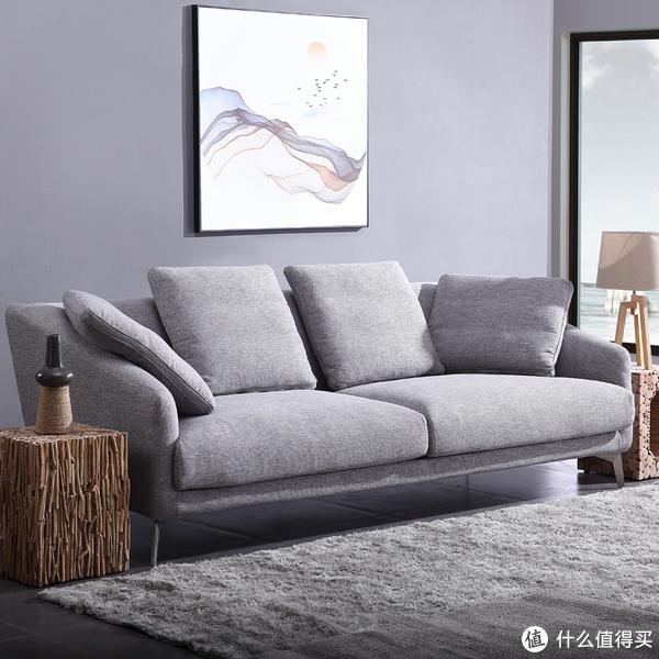 简约布艺沙发