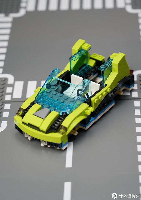 一辆的钱买三辆车?LEGO 乐高 创意百变系列 31074 火箭拉力赛车 双模式展示