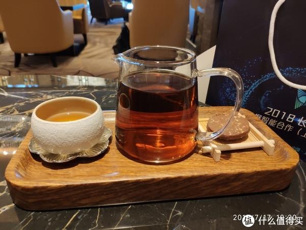 酒店的128一份的普洱茶。