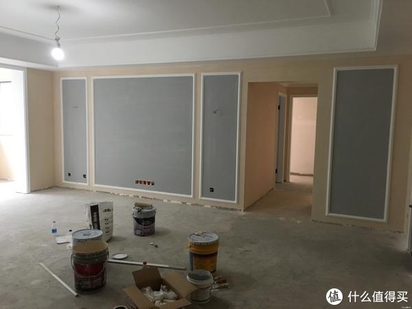 墙漆颜色是这样选的,设计师给的建议,蜜汁审美。。。