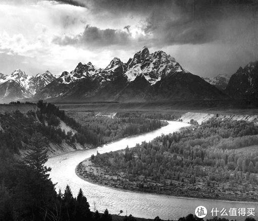 Snake River Ansel Adams 1941