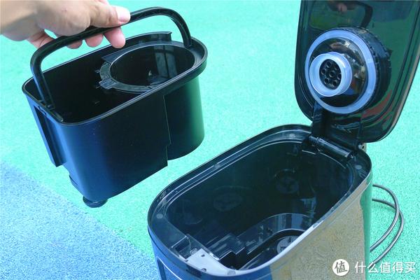 Donlim 东菱 DL-KF1061 咖啡机 体验:现磨咖啡简单制作,小白也能轻松上手