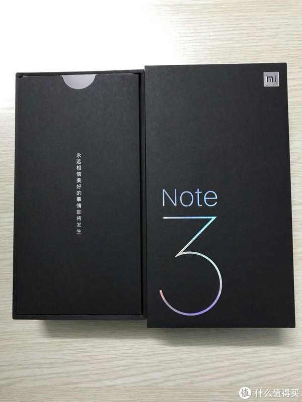 小米Note3简单开箱