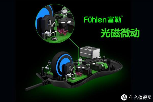学问哥晒数码 篇十四:PMW3360引擎、光磁微动,富勒G93Pro鼠标开箱体验