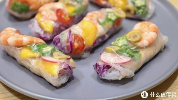 【视频】越南大虾春卷:不用开火的高颜值春卷,清爽夏日必做菜