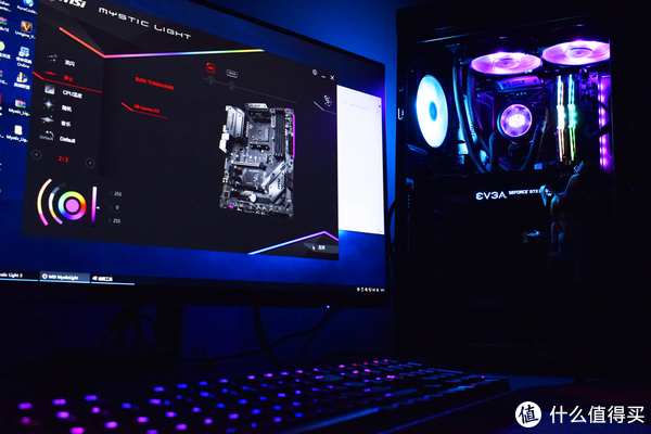 如果电源也加入RGB同步就完美了