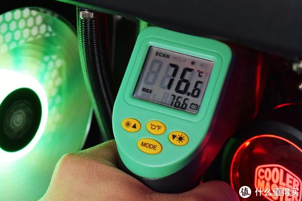 主板供电部分温度