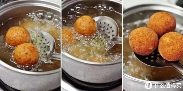 香酥焦脆的土豆小丸子