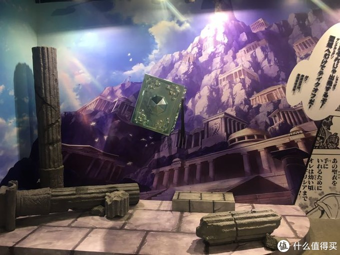一进大门,就是一副圣墟断壁残垣的场景图。