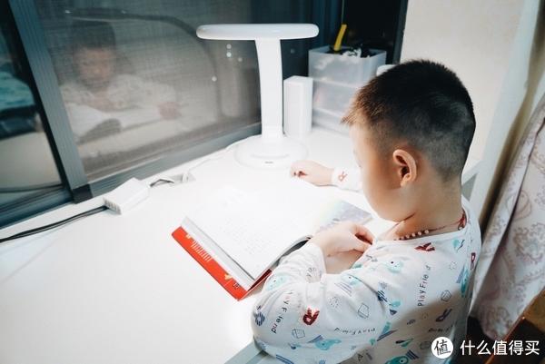 #达人发文幸运屋#护眼坐姿校正全都有,腾讯儿童智能台灯K9体验