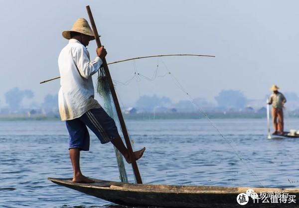 ▲ 朴实的渔民