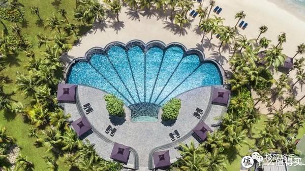 ▲ 贝壳游泳池