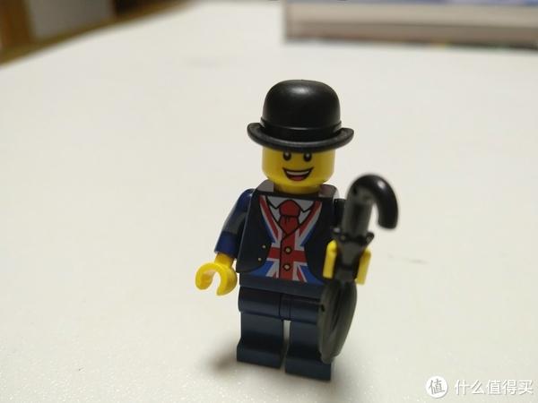弥补童年缺少的遗憾 篇十七:LEGO 40308 英国绅士人仔