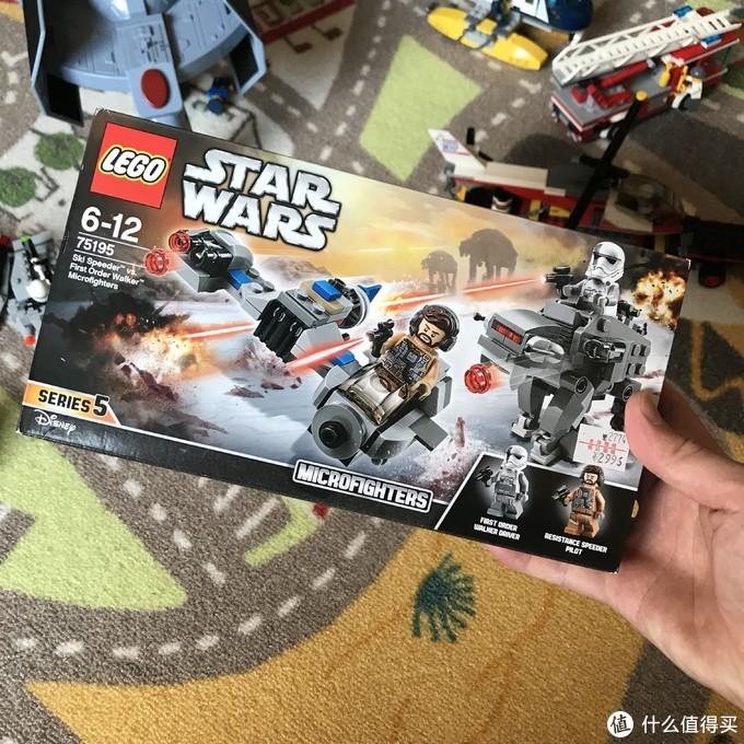 Lego 乐高 75195 星球大战8 对战套装开箱