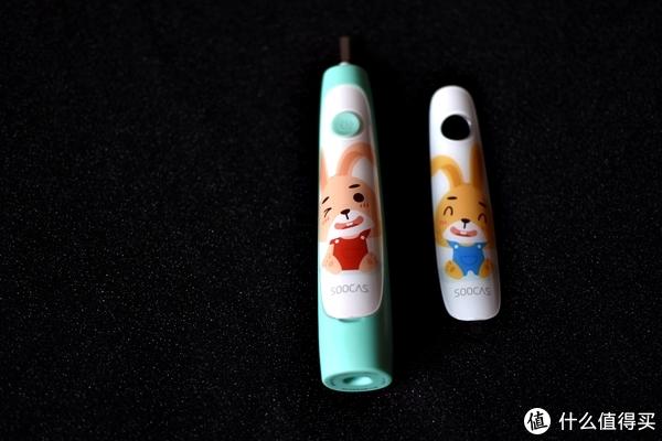 爱上刷牙从电动牙刷开始—SOOCAS 素士 儿童声波电动牙刷体验