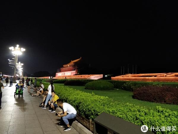 暴走北京—深夜的故宫城墙依然巍峨