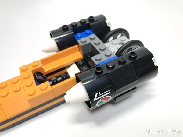 小套装大魅力:LEGO 乐高 60178  速度挑战者