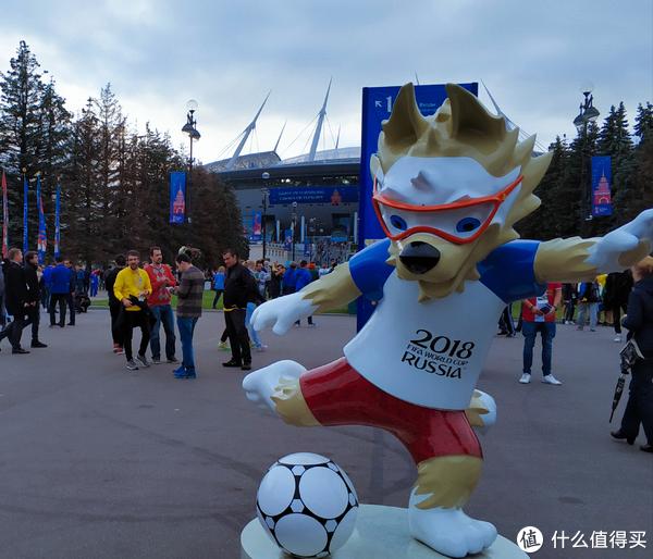 扎比瓦卡,俄罗斯世界杯吉祥物