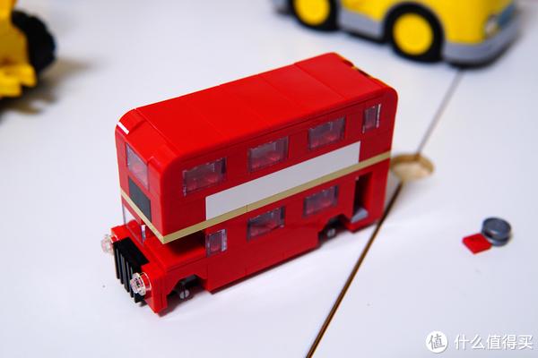 小而传神:LEGO 乐高 40220 小版双层巴士开箱