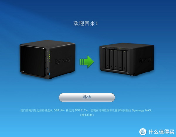 Synology 群晖 DS1517+ NAS升级体验